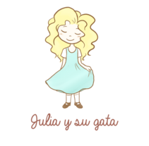 Julia y su gata. Un proyecto de Ilustración de Marina Morcillo Gómez - 30-07-2014