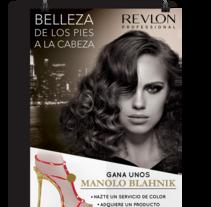 Campaña Revlon. Un proyecto de Publicidad, Fotografía, Dirección de arte y Diseño gráfico de Holy Hole Studio         - 14.10.2014