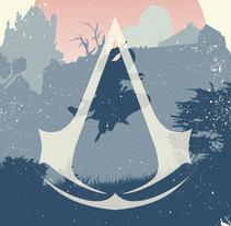 Assassins Creed Hype Posters. Um projeto de Design, Ilustração, Br, ing e Identidade, Artes plásticas e Design gráfico de Sergio Kian         - 15.10.2014
