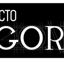 Logotipo Proyecto Ágora. Un proyecto de Br, ing e Identidad y Diseño gráfico de Maria Clares Gonzalez         - 15.03.2014