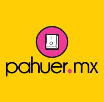 pahuer.mx. Um projeto de Ilustração, Direção de arte, Br, ing e Identidade, Design gráfico, Marketing e Web design de Patricia  Berthier - 06-10-2013