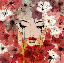 Love & Death. A Fine Art, Illustration, and Painting project by Conrad Roset - 11.03.2014