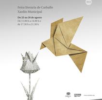 Praza dos libros 2012. Um projeto de Publicidade, Eventos e Design gráfico de Gende Estudio         - 06.11.2014