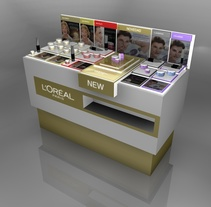 L'Oreal 3d Expositors. A 3D, Design, and Furniture Design project by Naone  - May 01 2012 12:00 AM