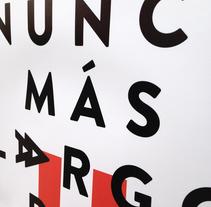El anuncio más largo del mundo. Un proyecto de Dirección de arte, Diseño gráfico y Diseño Web de Héctor Rodríguez         - 07.10.2014