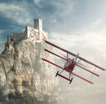 Red Baron Compositing + Breakdown. A Film, Video, TV, 3D, and Post-Production project by Alberto Lozano Cabedo - 17-11-2014
