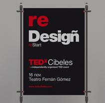TEDxCibeles ReStar. Un proyecto de Dirección de arte, Diseño gráfico y Tipografía de Héctor Rodríguez         - 15.11.2013