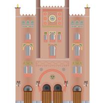 Puerta del Este / The East Gate. Um projeto de Ilustração de juan pedro         - 20.11.2014