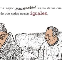 Todos somos iguales. Un proyecto de Ilustración y Tipografía de Jesús Valle         - 17.12.2013