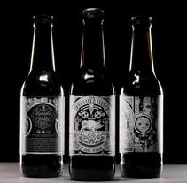 Monsieur Gordo Brewery. A Packaging project by Eduardo Bertone - 11.27.2014