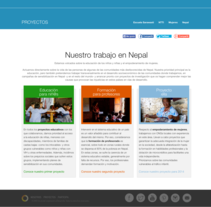 Círculo de Cooperación. A Web Development project by Enara L. Otaegi - 31-08-2013