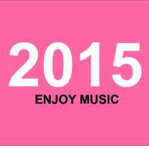 2015 ENJOY MUSIC. Un proyecto de Diseño de Estefanía Gómez - 04-12-2014