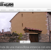 Casa Rural Pozo Macareno. A Graphic Design, and Web Development project by Javier Moreno Santa Engracia - 13-06-2014