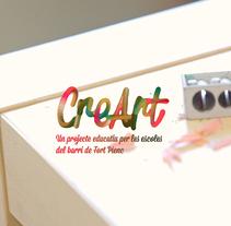 CreArt - Proyecto artístico, educativo y comunitario. A Film, Video, TV, Motion Graphics, and Advertising project by XELSON  - Dec 12 2014 12:00 AM