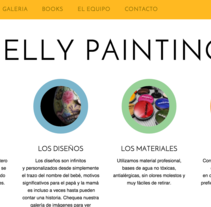 Belly Painting. A Web Design, and Web Development project by Manuel Angel Garcia Gomez         - 16.12.2014