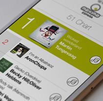 Máxima FM. Un proyecto de Diseño, Desarrollo de software, UI / UX, Dirección de arte y Diseño gráfico de Fourandgo Mobile  - 21-12-2014