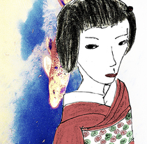 INSPIRADO EN JAPON. A Illustration, and Fine Art project by Isabel  Sobregrau - 29-12-2014