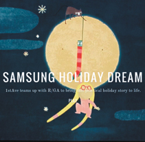 Samsung Holiday Dream. A Illustration, Motion Graphics, and Animation project by Mar Hernández - Jan 01 2015 12:00 AM
