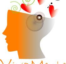 Logotipos Viva Mente. Un proyecto de Ilustración de Luciana Garcilazo - 08-04-2014