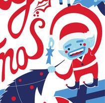 Feliz Navidad!. Un proyecto de Ilustración de Neosbrand  - Jueves, 08 de enero de 2015 00:00:00 +0100