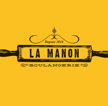 La Manon Boulangerie. A Br, ing, Identit, Graphic Design, Cop, and writing project by Marilu Rodriguez Vita - Jan 08 2015 12:00 AM