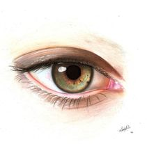 Ojos. A Fine Art&Illustration project by Maru Stahl - 11.23.2014