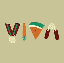 VIVA Magazine - Portada. Un proyecto de Ilustración de Pablo Alvin - 11-01-2015