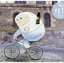 Yeti . Un proyecto de Ilustración de Ainara Tavárez - 05-01-2014