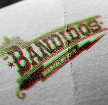 Bandidos Lettering. Um projeto de Design, Música e Áudio, Br, ing e Identidade e Design gráfico de Ms. Barrons         - 27.01.2015