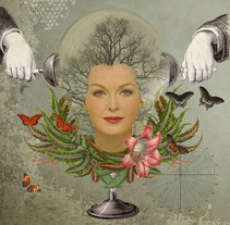 Collages Digitales. A Illustration, and Collage project by Magda Pintos         - 12.02.2015