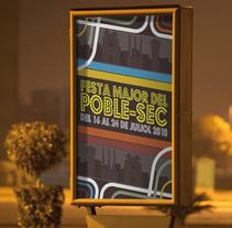 Festes Poble Sec 2010. Um projeto de Design gráfico de Domingo Melero Pérez         - 14.02.2015