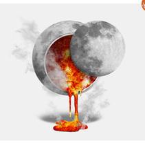 SuperMoon!!. Un proyecto de Ilustración de creatividad y diseño  - 15-02-2015