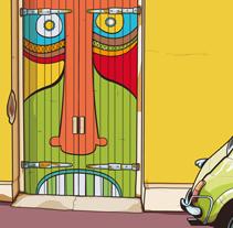 Fiat 500. Um projeto de Design, Ilustração e Design gráfico de Srmulas         - 16.02.2015
