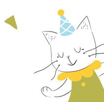 Tarjetas de felicitación. Um projeto de Design e Ilustração de Laura Gómez Guerra         - 19.02.2015