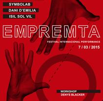 Workshop de Performance y Arte de Acción. Um projeto de Educação, Eventos e Artes plásticas de EMPREMTA festival internacional de performance         - 22.02.2015