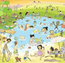 Vida cotidiana. A Illustration project by Beatriz de Luz Nadal         - 26.02.2015