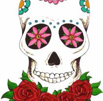 Skulls. Un proyecto de Ilustración de Elena  González Toribio         - 08.12.2014