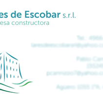 Lares de Escobar/VATAFE. A Graphic Design project by Juan Cruz Maciorowski         - 14.02.2014