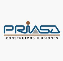 Priasa constructores. Um projeto de Br e ing e Identidade de Alex G. Santana         - 01.03.2015