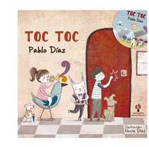 Toc - Toc. A Illustration project by Nuria Diaz         - 02.12.2013