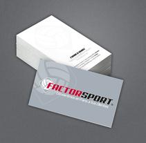 Branding Factor Sport. Um projeto de Br e ing e Identidade de Luiz Franco Lordelo Muniz         - 08.03.2015