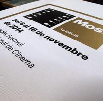 IMAGEN MOST FESTIVAL 2014. Un proyecto de Diseño, Ilustración, Cine, vídeo, televisión, Diseño editorial, Diseño gráfico y Cine de Dani Jané Sors         - 05.11.2014