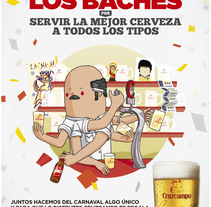 Carnaval Cruzcampo. A Illustration project by The Pilot Dog Ilustración & Diseño         - 17.03.2015