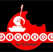 Bar-Restaurante PINTXOS. Um projeto de Design, Br, ing e Identidade e Design gráfico de Ángel J. Alonso Moruno         - 28.01.2015