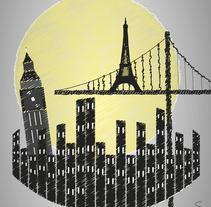 Cities of the World II. Um projeto de Ilustração de Lander Santos Pego         - 23.03.2015