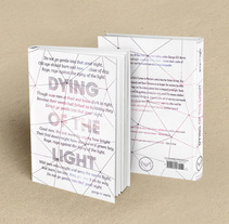 /// *Dying of the light*_book cover redesign. A Editorial Design project by Adriana Zurera - 26-03-2015