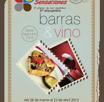 Barras y Vinos Torre Pacheco. Un proyecto de Diseño gráfico de Salvador Nicolás         - 05.04.2015