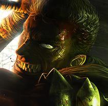 Berserk Fan Art by Cristian Sánchez. Un proyecto de Ilustración, Bellas Artes y Pintura de Cristian Sánchez  - 08-04-2015
