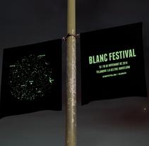 Blanc Festival. Un proyecto de Diseño de Carlota Porqueras Frias         - 09.04.2015