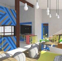 Cafearte. Um projeto de Design, Arquitetura, Arquitetura de interiores e Design de interiores de UVE Laboratorio de Diseño         - 14.01.2014